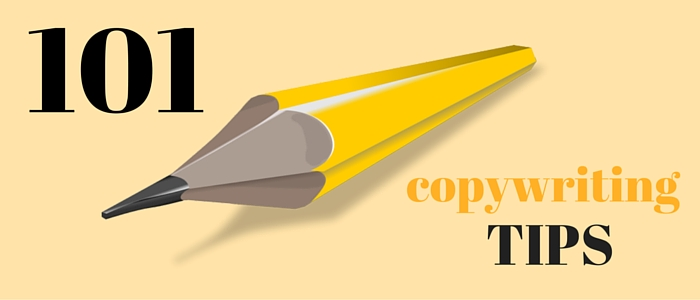 101 Consejos para que escribas como un copywriter profesional