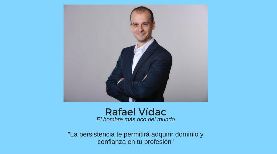 Rafael Vídac, claves para alcanzar la riqueza interior y el éxito como coach