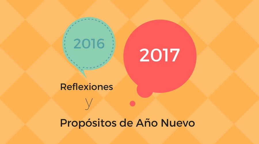 Reflexiones del año y objetivos para 2017 (también hablan los suscriptores)